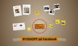 BYGGOPP på Facebook