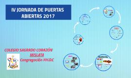 JORNADA DE PUERTAS ABIERTAS 2017