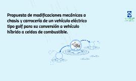 Propuesta de modificaciones mecánicas a chasis y carrocería