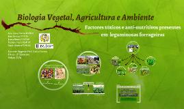 Biologia Vegetal, Agricultura e Ambiente