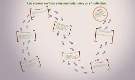 Copy of Los valores sociales y medioambientales en el individuo