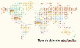 tipos de violencia intrafamiliar