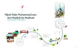 Hijrah Nabi Muhammad saw. dari Makkah ke Madinah