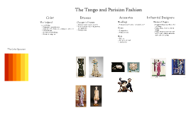 Copy of The Tango and Fashion in Paris