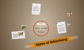 Styles of Advertising
