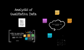 Analysis of Qualitative Data