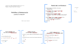 Copy of Petróleo y Democracia, por Armando I. Flores - Lidera