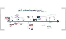 Språk og litteraturhistorie