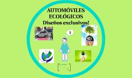 Copy of AUTOMÓVILES ECOLÓGICOS