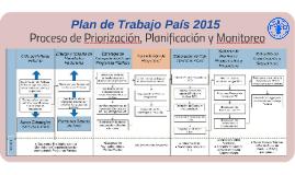 FAONI PTP 2015: Proceso de Planificación y Monitoreo