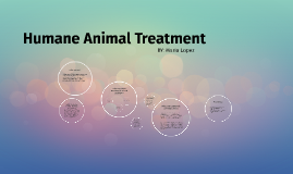 Humane Animal Treament