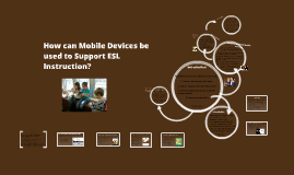 Mobile Devices and Teaching English Language Learners