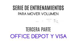 Tarjeta Visa y Office Depot