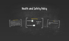 WBS Health and Safety Policy