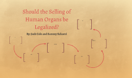 the benefits of legalizing the selling of human organs The legalization of organ selling would lead to more harm than good benefits of the current system organ donation has more positives than organ sale the illegalization of organ sale allows organ donations to go to only the people most in need of the issue of legalizing an organ selling market has been discussed at length for a long time should the sale of human organs be legal.
