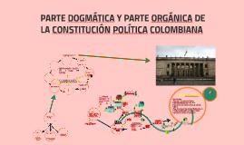 Copy of  PARTE DOGMÁTICA Y PARTE ORGÁNICA DE LA CONSTITUCIÓN POLÍTIC