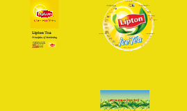 Lipton Marketing Project