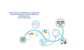 EVOLUCION DEL TELETRABAJO EN LAS compañías INTERNACIONALES D