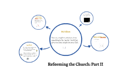 Reforming the Church: Part II