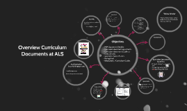 Curriclum Documents at ALS