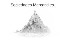 Sociedades Mercantiles.