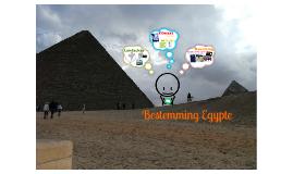 Bestemming Egypte