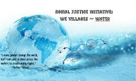 Social Justice Initiative: