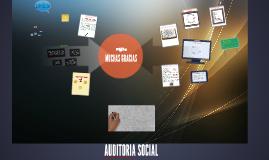 Copy of AUDITORIA SOCIAL