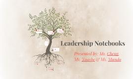 Leadership Notebooks