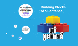 Building Blocks - Verbs