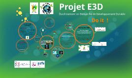 Projet E3D CDG Développement Durable