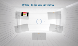 MyWorld - Trusted brand user interface