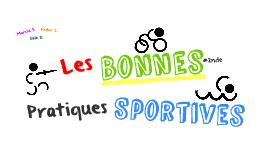Les Bonnes Pratiques Sportives