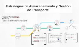 Copy of Estrategias de Almacenamiento y Gestión de Transporte.
