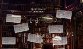 Copy of Dr. Heidegger's Experiment
