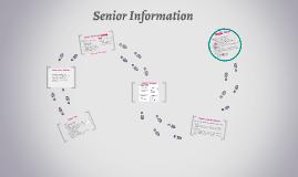 Senior Info