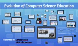 Evolution of Computer Science Education