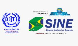 Gestão das Agências da Rede SINE