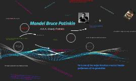 Mandel Bruce Patinkin