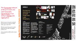 EAGLE Europeana, upconversion and aggregation