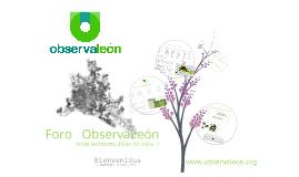 Foro ObservaLeon