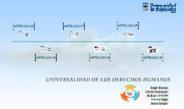 UNIVERSALIDAD DE LOS DDHH