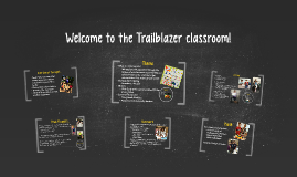 Welcome to the Trailblazer classroom!