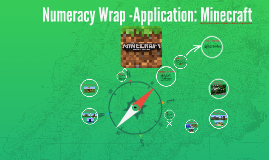 Numeracy WrapApplication: Minecraft