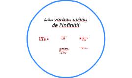Les verbes suivis de l'infinitif