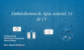 Embotelladora de Agua natural, SA de CV