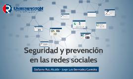 Seguridad y prevención en las redes sociales