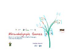 Mirandolympic Games
