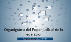 Organigrama del Poder Judicial de la Federación