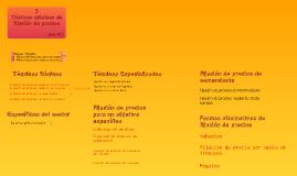 Copy of Tácticas Clásicas de Fijación de Precios